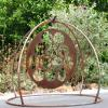 "~ Sold ""Spinner"" (kinetic) 49"" high   52"" wide   52"" deep Turns in the most gentle breeze!"