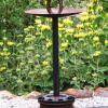 "~ Sold Birdie Bounty (bird bath or bird feeder) 40"" high  20"" diameter"