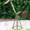 "~ Sold Jackie Giraffe 42"" high   42"" wide   12"" deep"