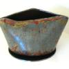 "~ Sold Laughing Bowl 4 3/4"" high   7"" diameter"