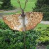 "~ Sold Flutterby 17"" high   20"" wide   2"" deep Height is without the rebar stake"