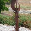 "~ Sold Great Balls of Fire! 49"" high   19"" diameter"