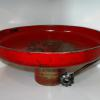 "~ Sold Scarlet Musical Bowl 14"" diameter   6"" high"