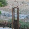 "~ Sold Gleeful Greeter 73"" high   38"" wide   6"" deep"