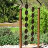 "~ Sold Spinning Plates (kinetic) 66"" high   40"" wide   6"" deep"