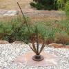 "~ Sold Rusty Ikebana 38"" high   30"" wide   8"" deep"