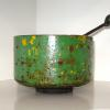 "~ Sold Lime Bowl (musical) 4"" high   6"" diameter"