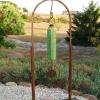 "~ Sold Lime Chime (kinetic & musical) 78"" high   43"" wide   6"" deep"